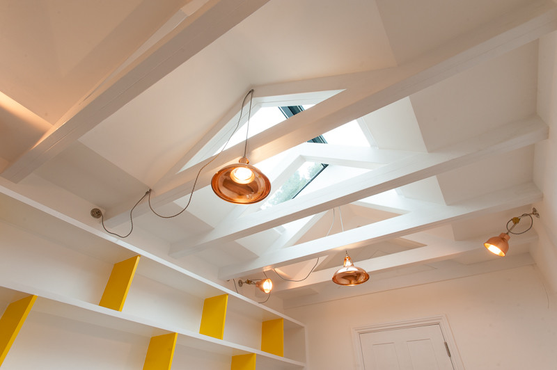 Copper Pendant Lights in home by Morgan Harris Architects, - View product in our shop