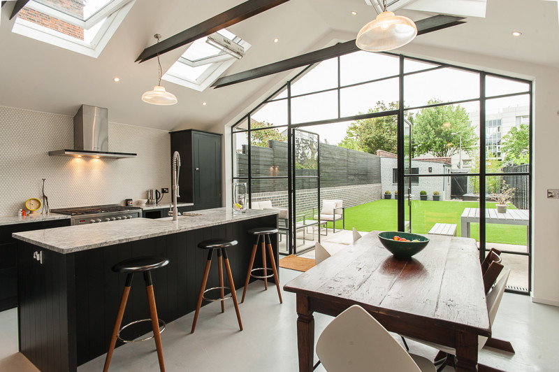 Classic Prismatic Pendant Lights in home by Morgan Harris Architects, - View product in our shop