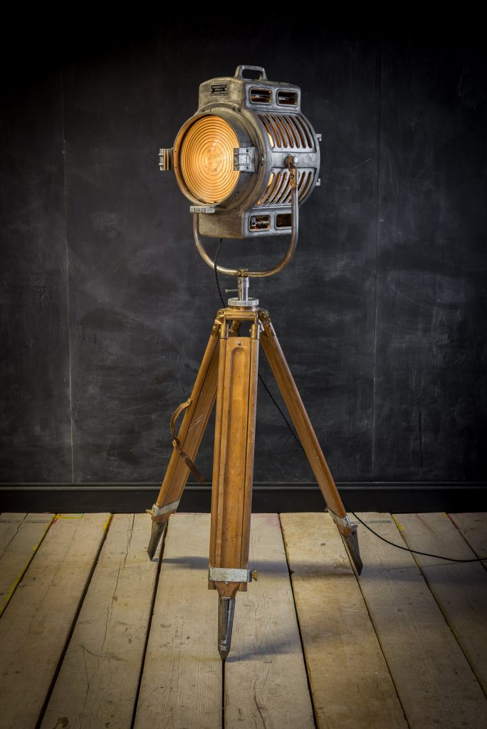 Antique theatre lamp by ARRI