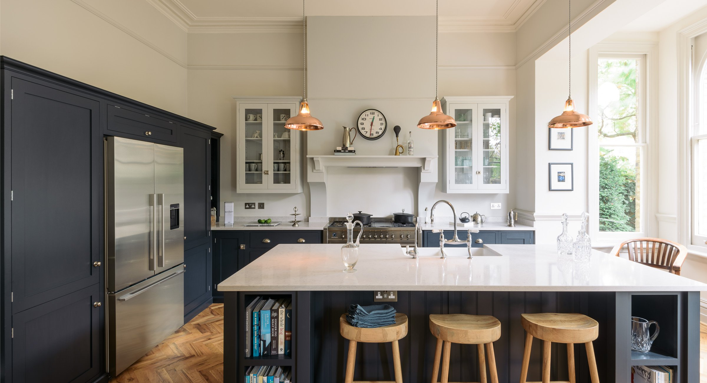 How Deep Are Kitchen Cabinets Devol Kitchens Crystal Palace Artifact Lighting Blog